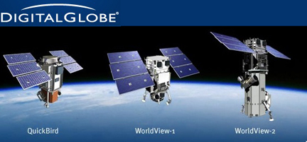 Satellites DigitalGlobe