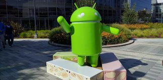 Statue Android Nougat