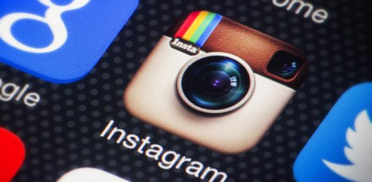 Application Instagram Logo Smartphone