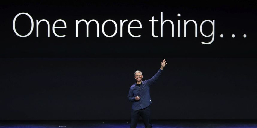 Keynote Apple One More Thing