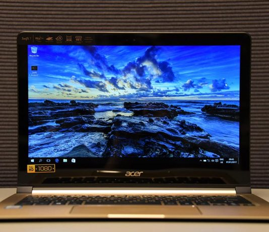 Test Acer Swift 7