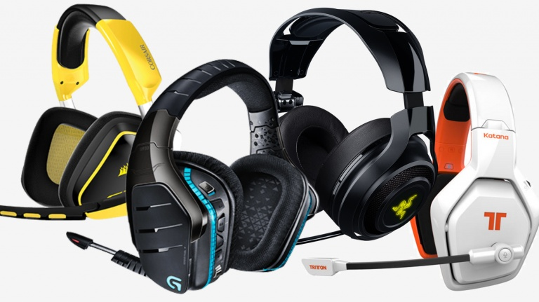 Casque audio gamer
