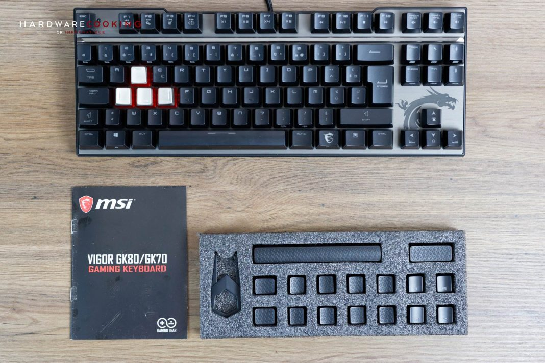 Claviers MSI