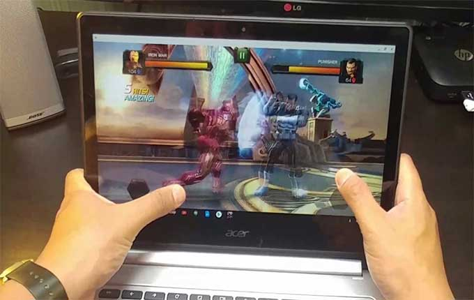 chromebook gaming